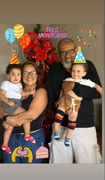 Gêmeos de Erick Jacquin celebrando um ano
