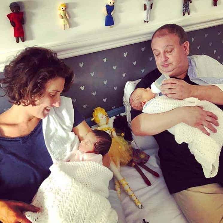Paola Carosella foi visitar os filhos do chef Jacquin
