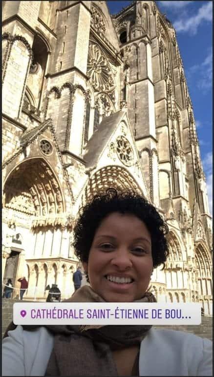Esposa de Jacquin posta foto da viagem