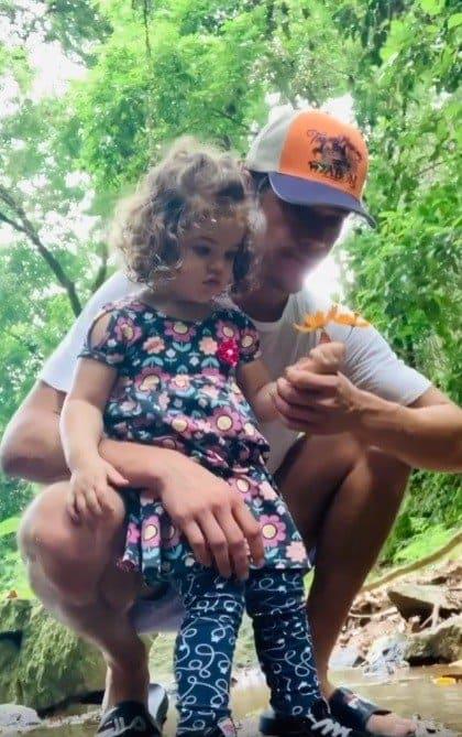 José Loreto ficou com sua filha com Débora Nascimento enquanto ela está na quarentena