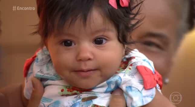 Yolanda é filha de Juliana Alves