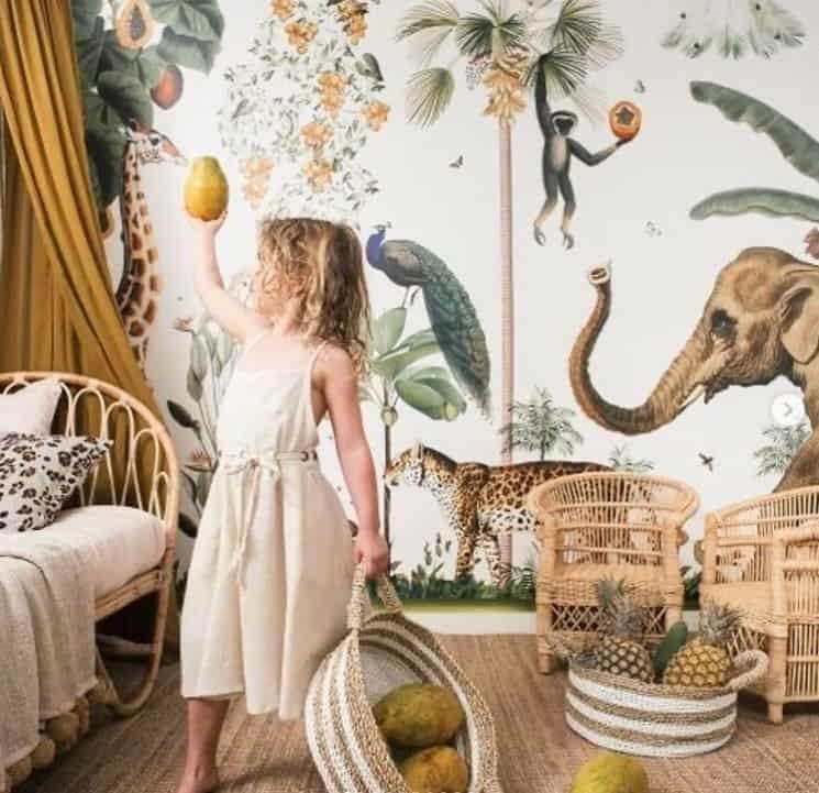 Inspiração para o quarto da filha de Kaká