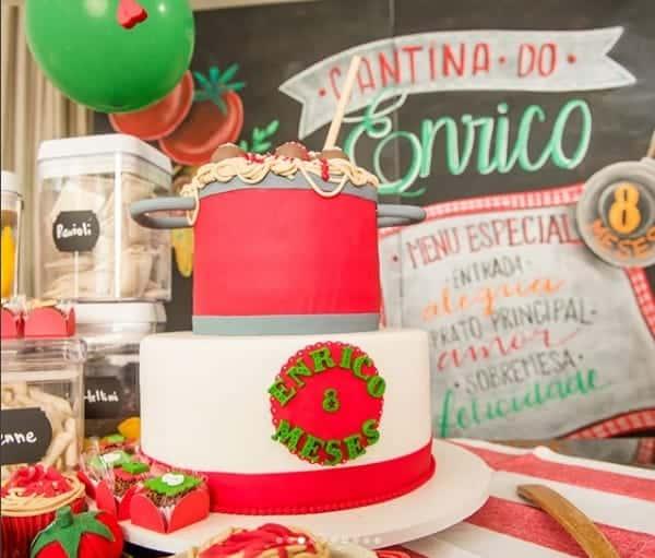 O fofo Enrico está comemorando oito meses de vida