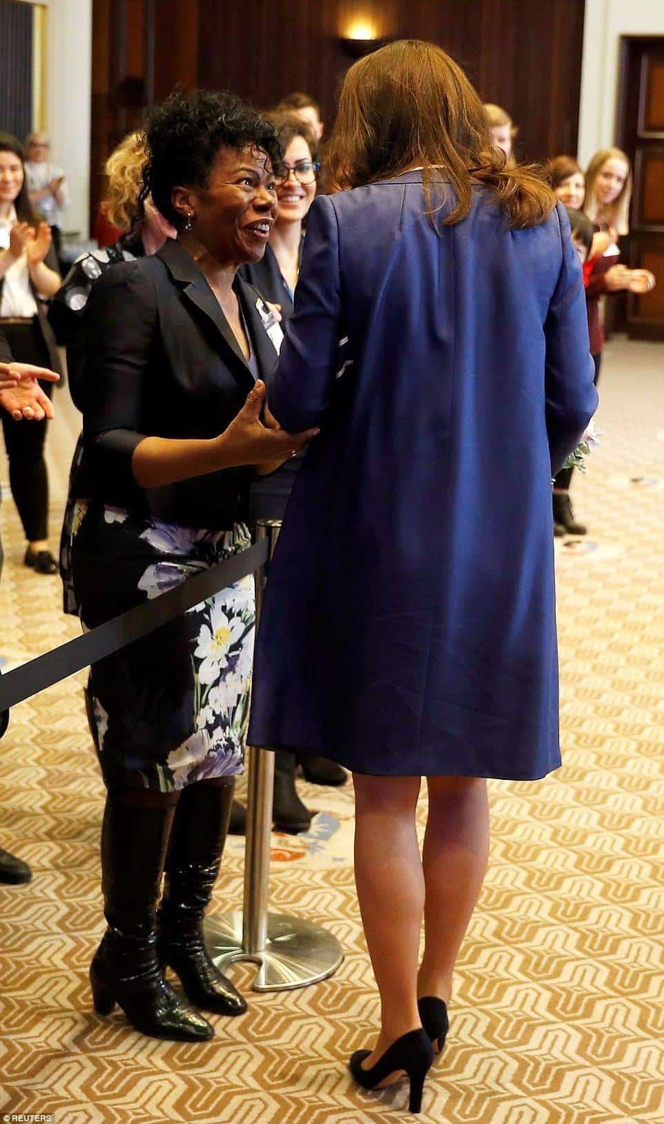 Kate Middleton e a enfermeira de seu segundo parto, Jacqueline