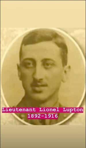 O tio bisavô da duquesa, Tenente Lionel Lupton, que morreu na Primeira Guerra Mundial