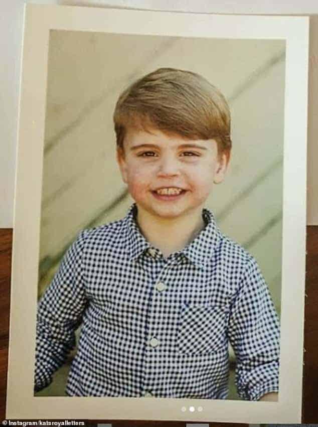 Príncipe Louis, filho caçula de Kate Middleton e William