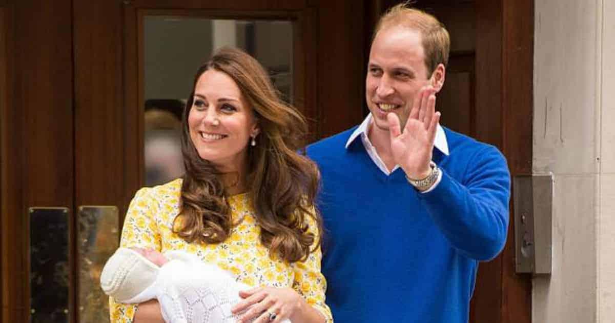 Kate Middleton após dar à luz