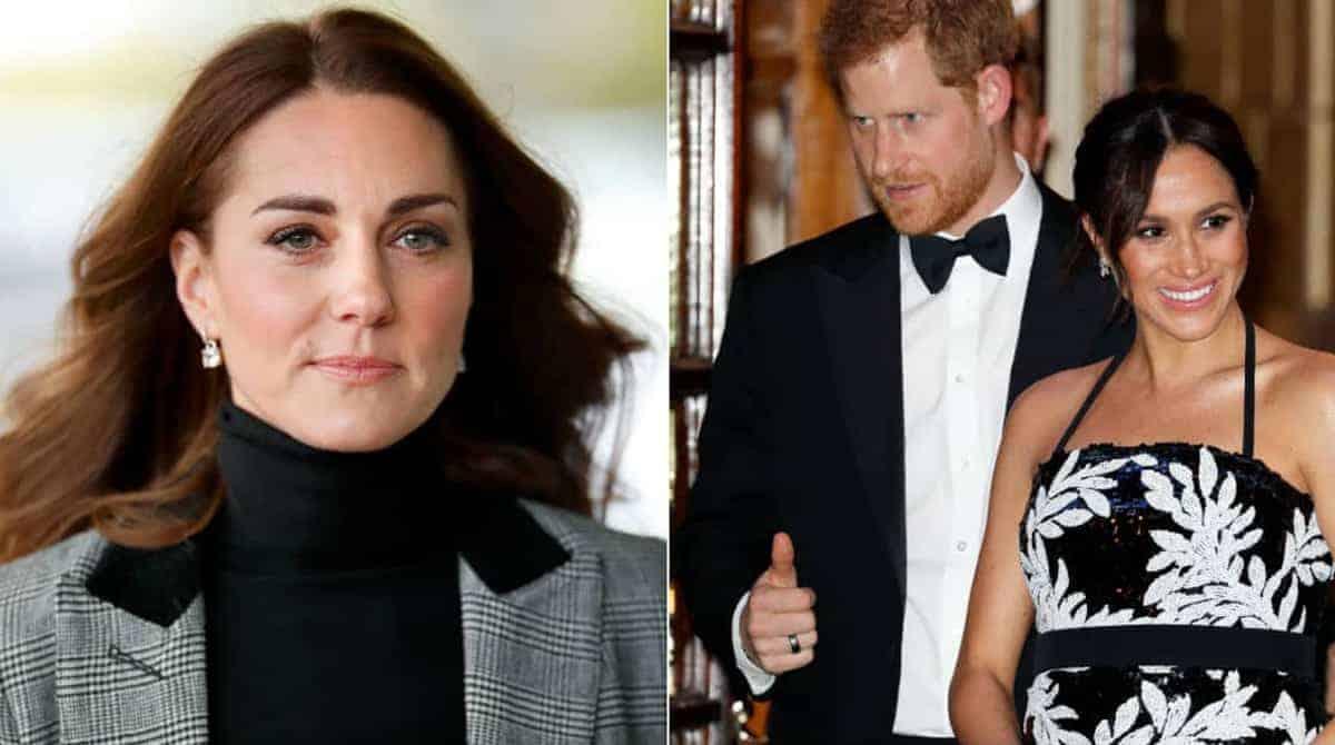 A duquesa Kate Middleton falou sobre gestação da futura mamãe a duquesa Meghan Markle