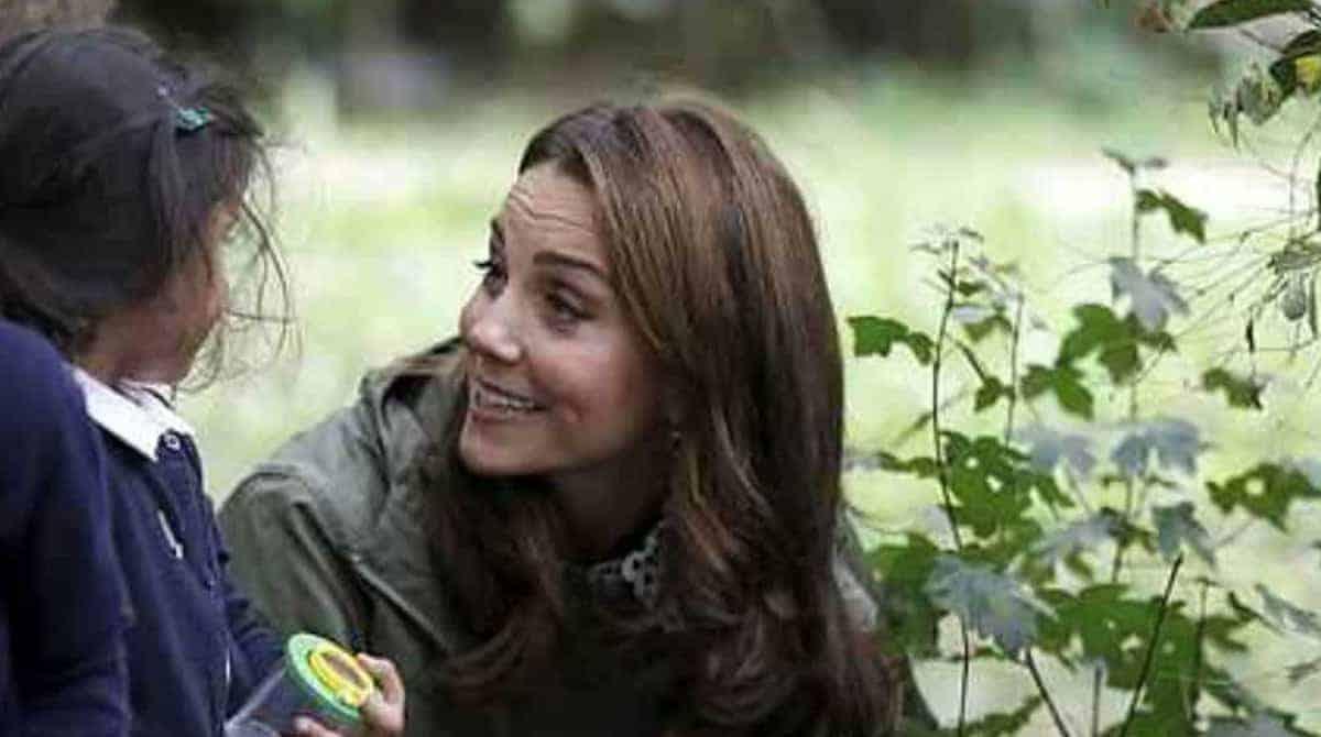 Saiba o qual foi a resposta da duquesa Kate Middleton para a menina