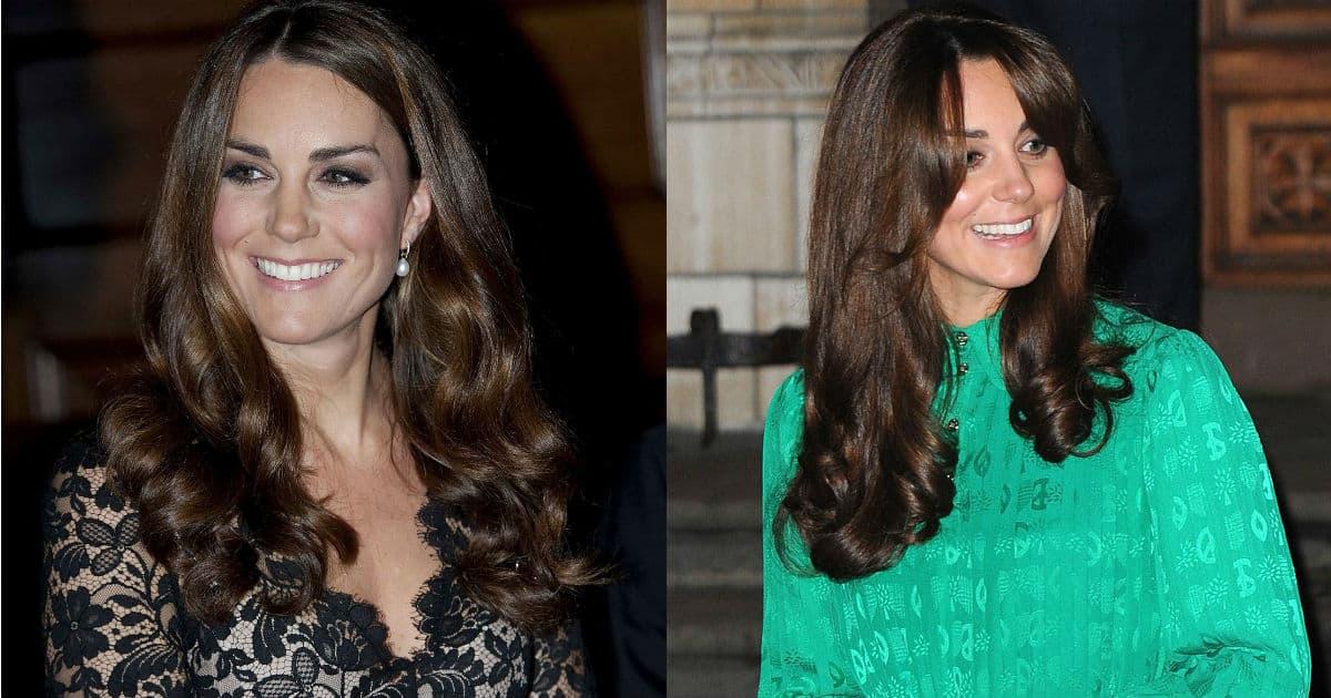 Montagem da duquesa Kate Middleton de 2012