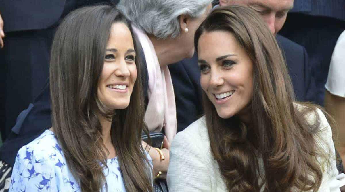 Pippa Middleton foi vista na luxuosa maternidade Lindo Wing