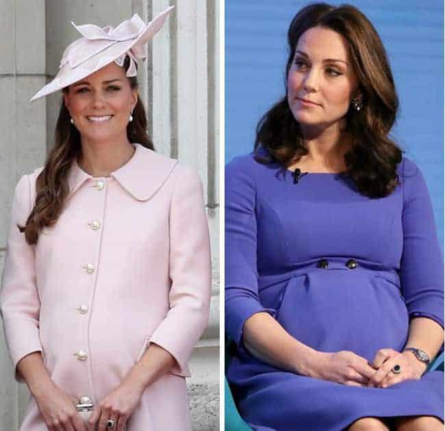 Saiba porque a barriga de Kate Middleton está tão diferente da outra gestação