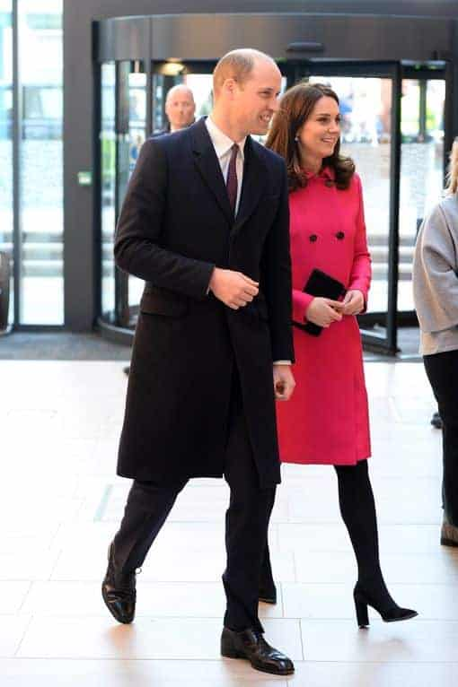 A duquesa Kate Middleton espera o terceiro filho do casal