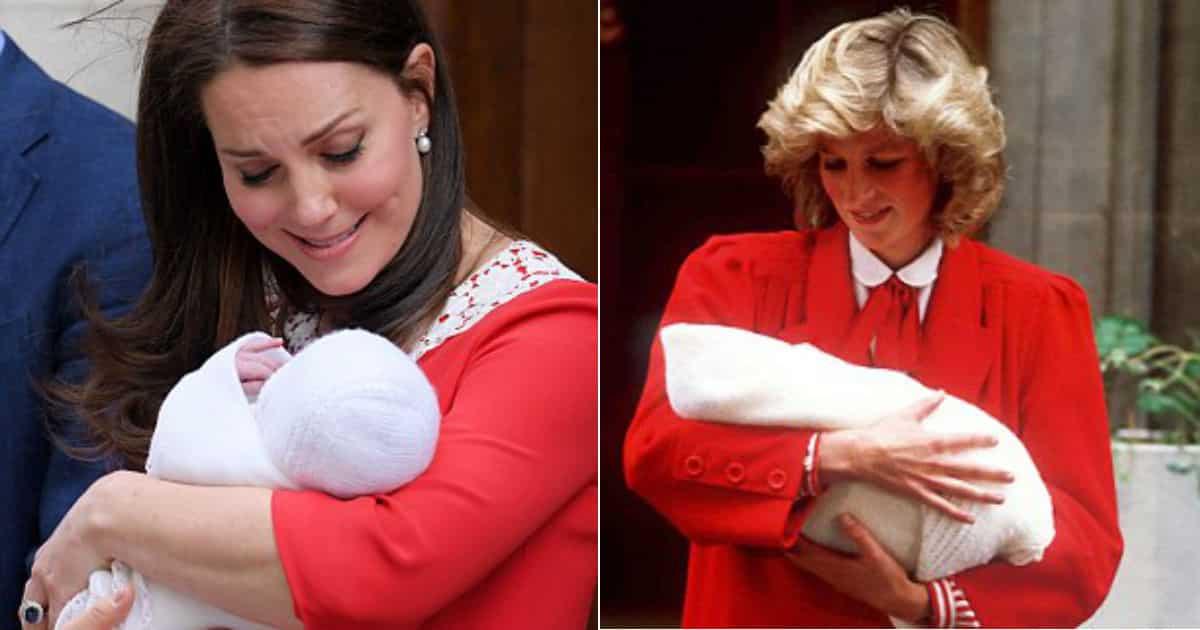 Veja outra semelhança entre a duquesa Kate Middleton e a princesa Diana