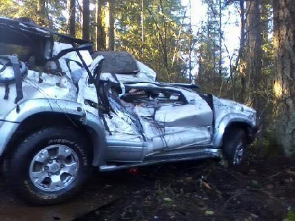Bebê sobrevive a acidente nesse carro