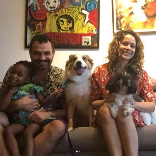 A família da atriz Leandra Leal