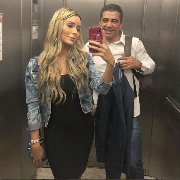Outra foto da ex-bbb Letícia Santiago aos seis meses de gravidez