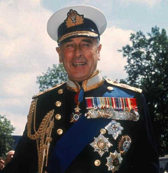 O Lorde Mountbatten terá seu nome homenageado pelo bebê real