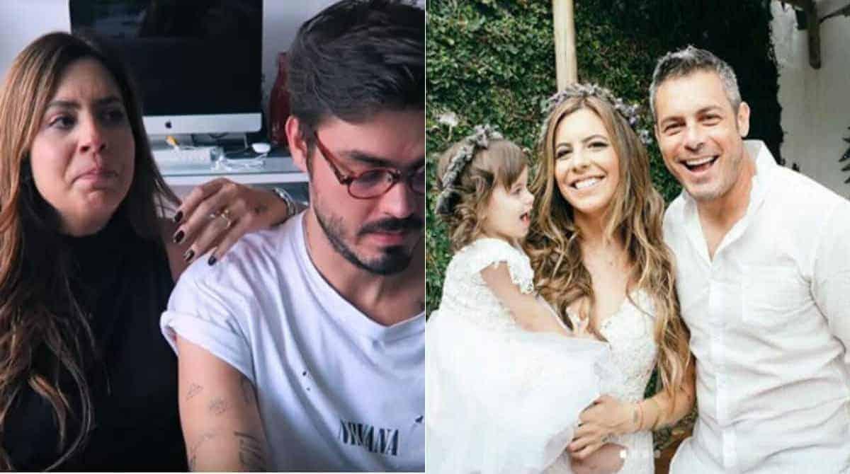 Rúbia Baricelli, filha do ator Luigi Baricelli, e o marido Henrique Tomaz desabafaram sobre o que aconteceu na escolinha da filha