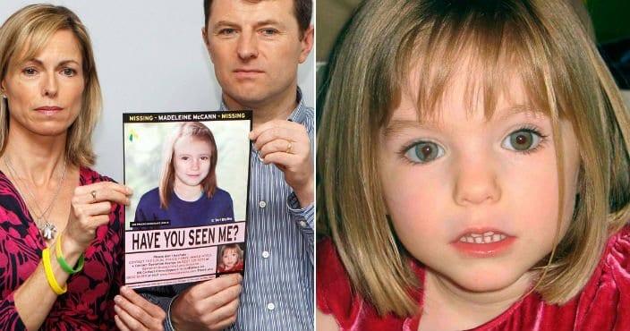 Pais de Madeleine McCann ainda procuram por ela
