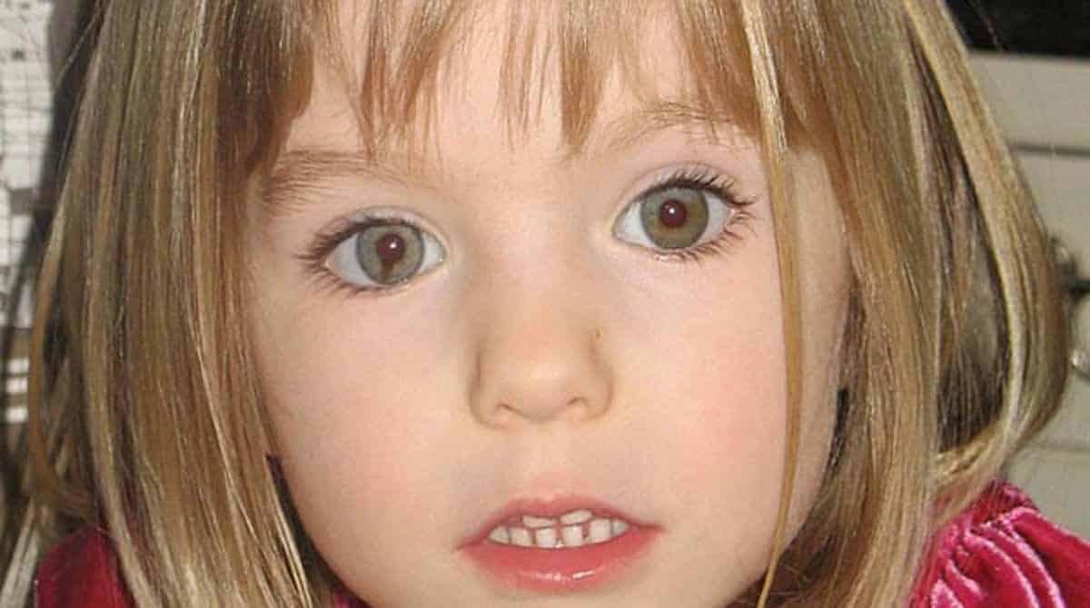 Madeleine McCann está desaparecida há muito tempo