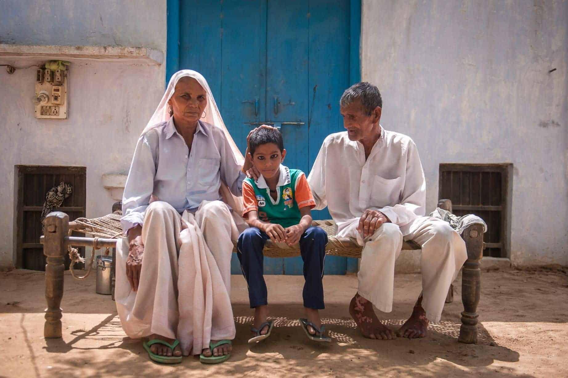 Omkari Singh perdeu a filha com quatro anos