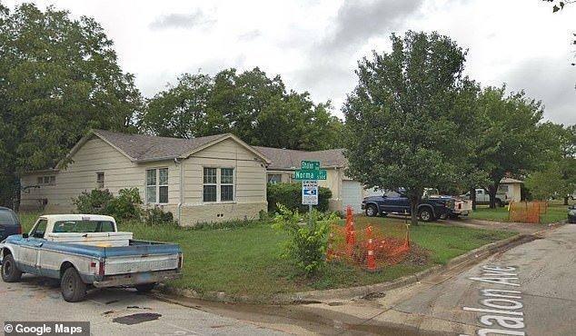 A casa em que o acidente com o bebê aconteceu