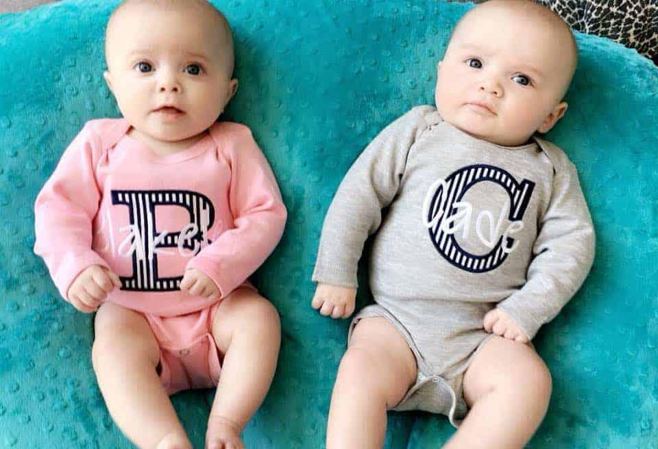 Os lindos gêmeos