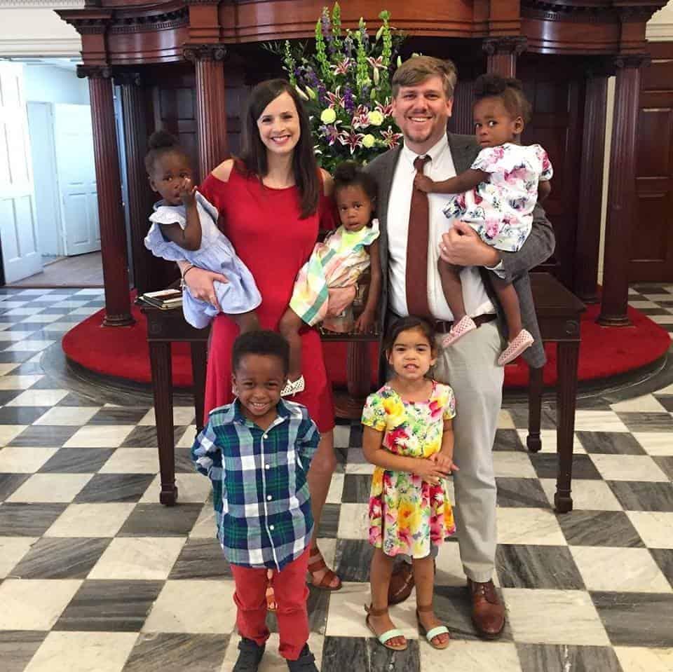 Imagem atual da família reunida