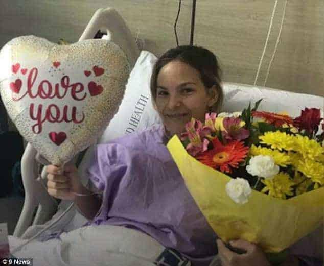 Agora Shannon está se recuperando no hospital