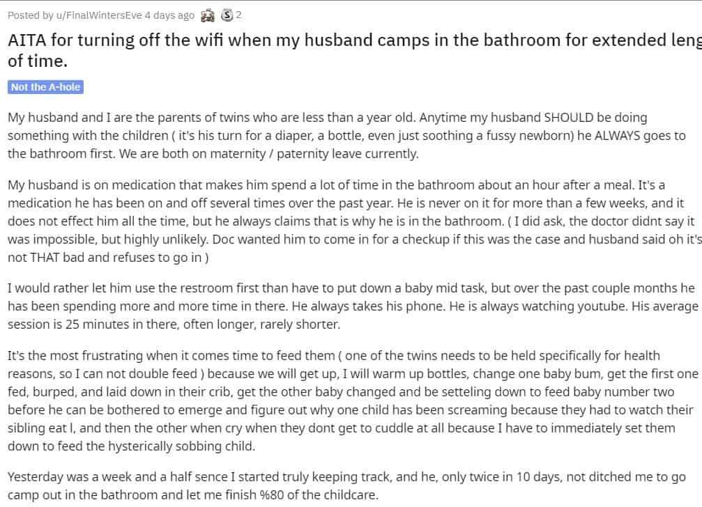 Parto do relato que a mãe escreveu sobre o marido