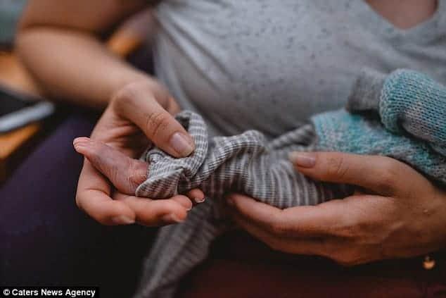 O parto do bebê aconteceu na 33ª semana