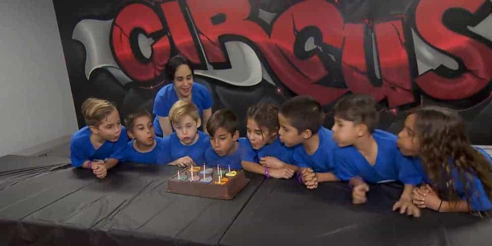 Aniversário dos oito irmãos
