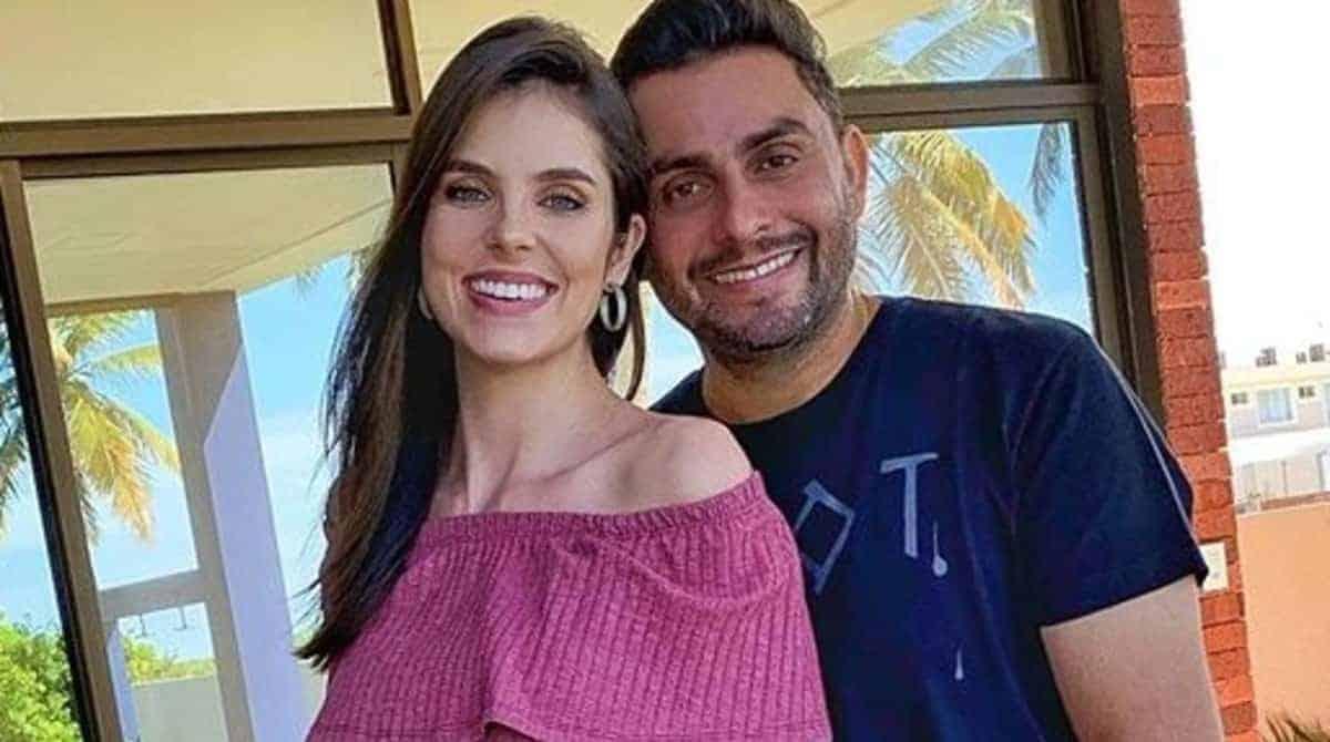 Mano Walter e Débora Silva foram ao médico na reta final da gestação