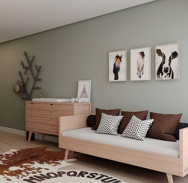 Detalhe do quarto do filho de Mano Walter e Débora Silva