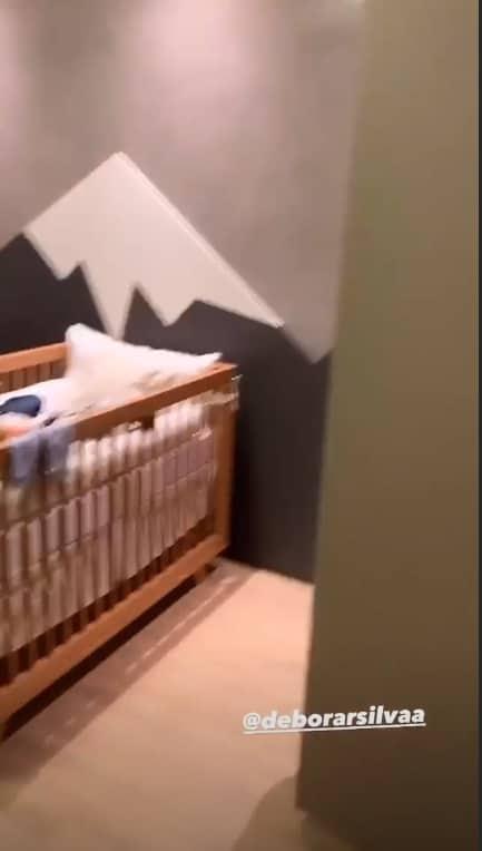 O lindo quarto do primeiro filho do cantor Mano Walter