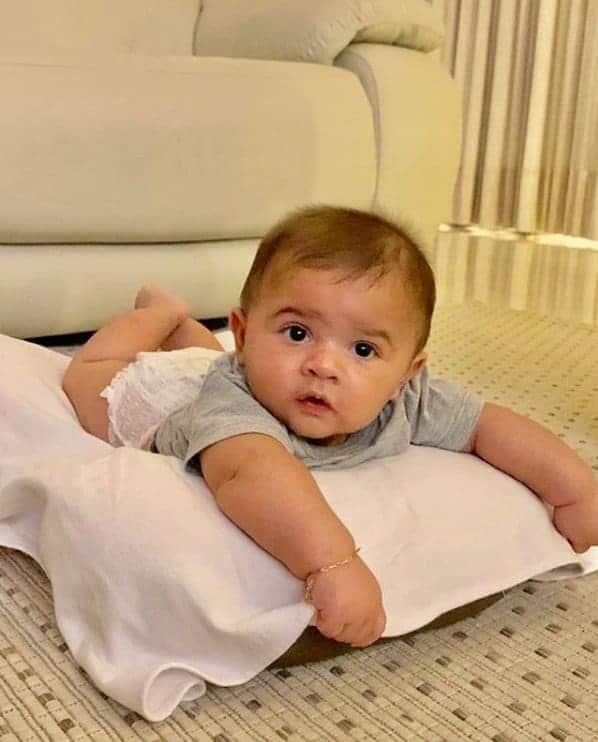 O bebê da cantora Marília Mendonça