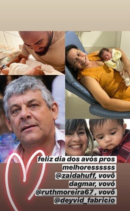 Marília Mendonça mandou um recado pros avós de seu filho
