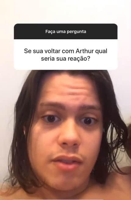 Filho de Mayra Cardi deu sua opinião sobre Arthur Aguiar