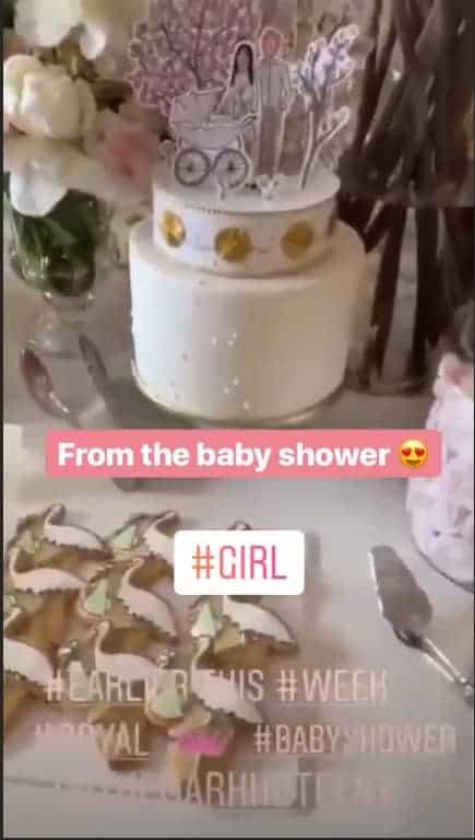 No vídeo foi possível ver os delicados doces do chá de bebê