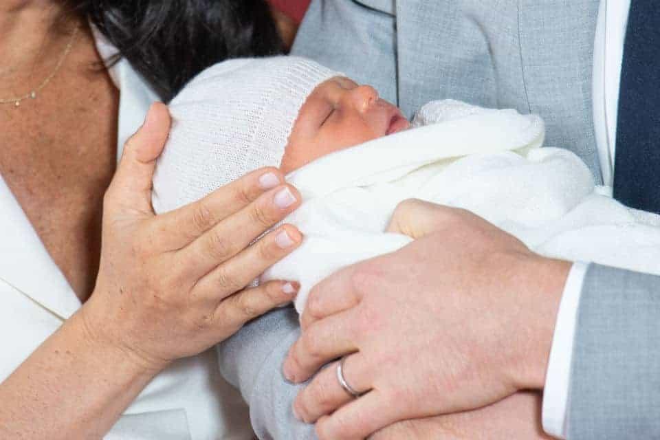 Archie primeiro filho do casal Meghan Markle e príncipe Harry