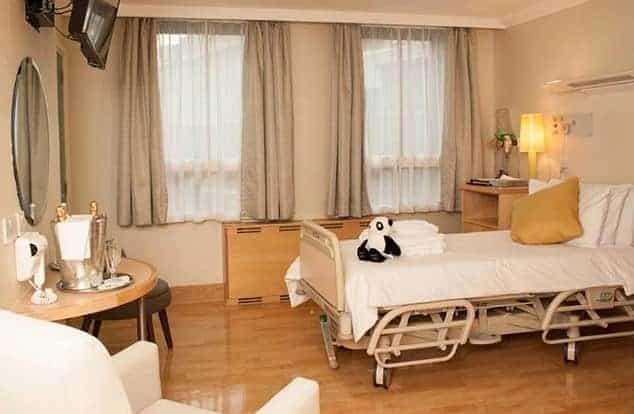 Hospital em que Archie nasceu tem quartos luxuosos