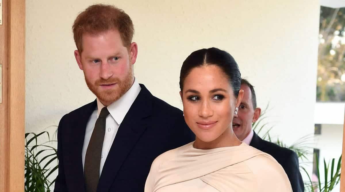 Meghan Markle mostrou foto rara de seu filho com príncipe Harry