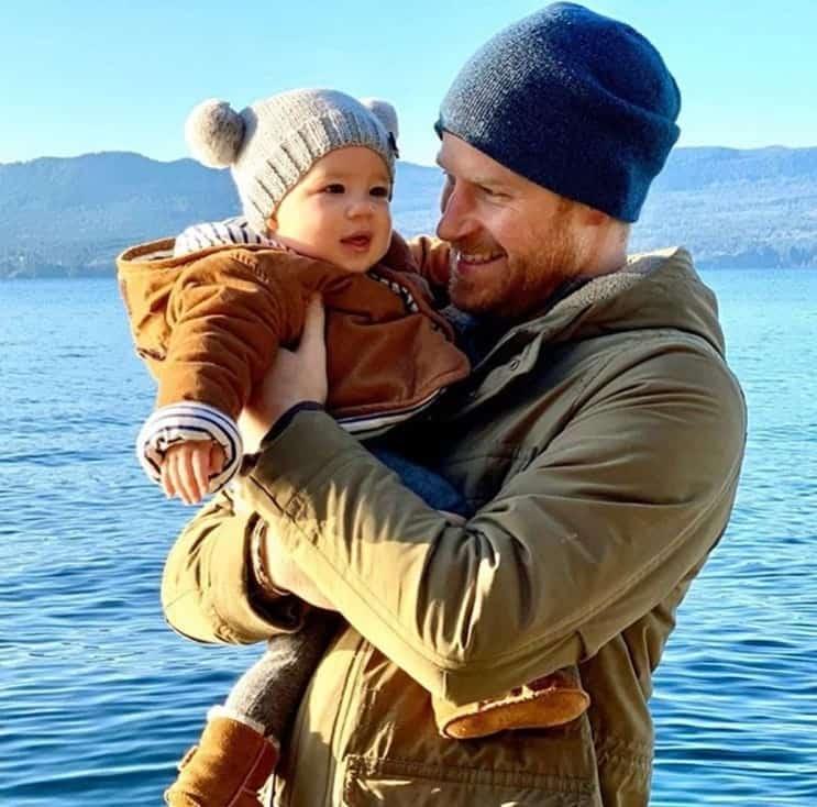 O filho de Meghan Markle com o pai Príncipe Harry