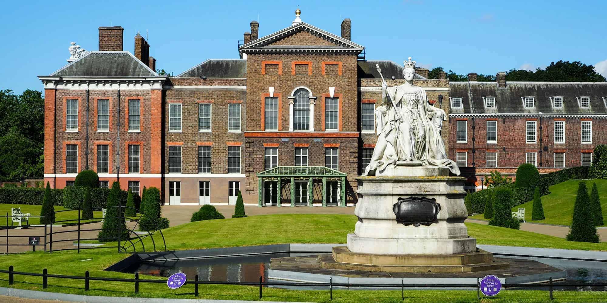 Atualmente Meghan Markle e o príncipe estão morando no Palácio Kensington