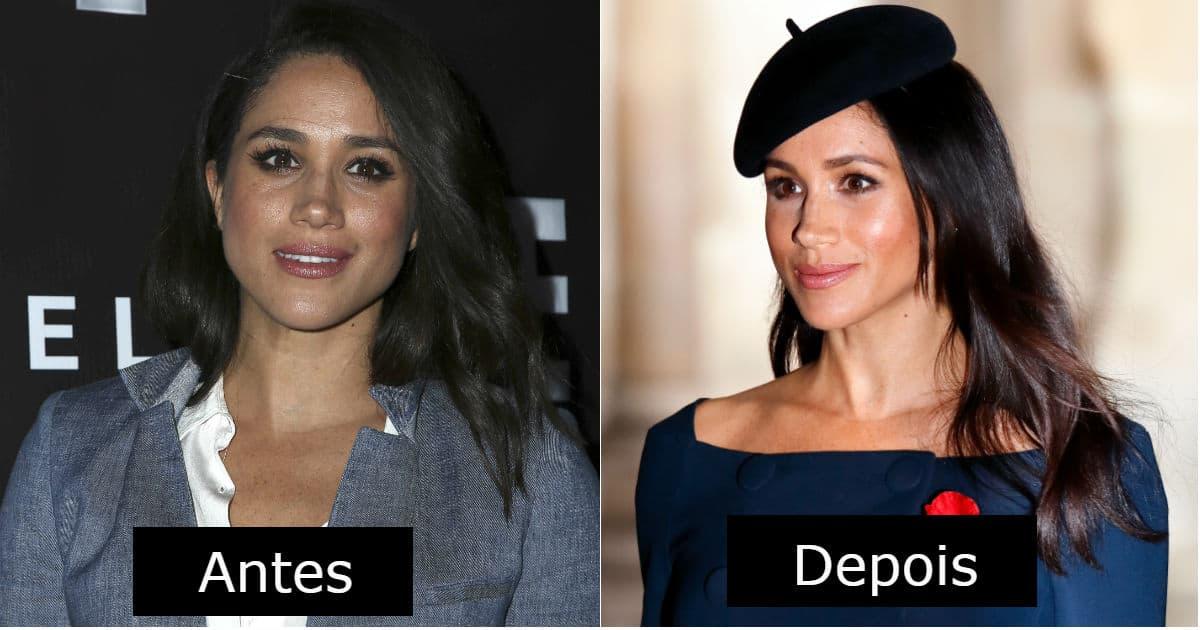 Veja a mudança no visual da duquesa Meghan Markle
