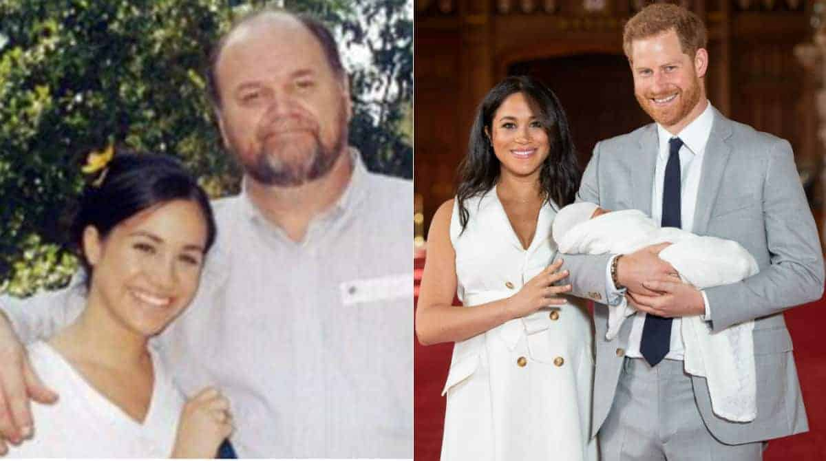 Confira o relato de história envolvendo pai de Meghan Markle
