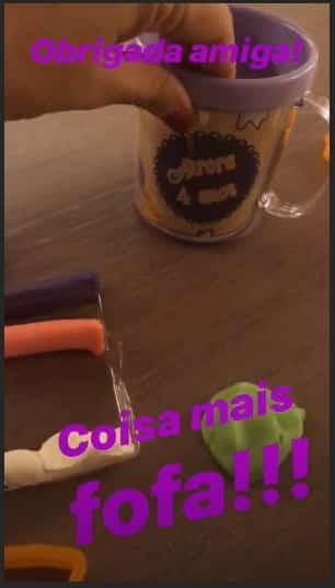 Rafael Cardoso festa uma bela festa para sua filha Aurora