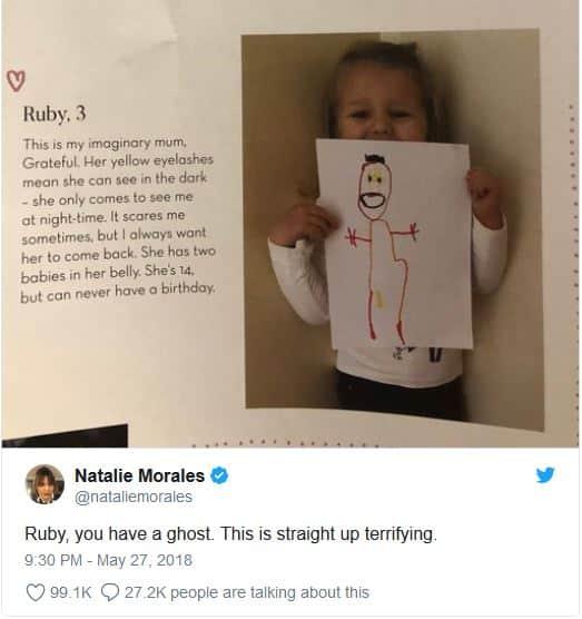 Natalie Morales fez essa postagem