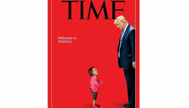 A fofa bebê foi até capa da revista Time